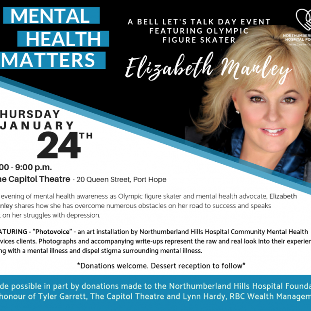 Mental Health Matters - A Bell Let's Talk Day Event